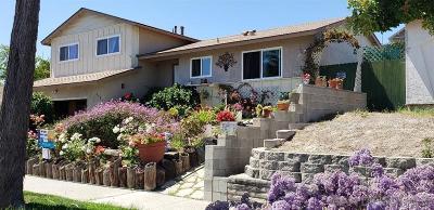 Oceanside Single Family Home For Sale: 4085 Mira Costa Street