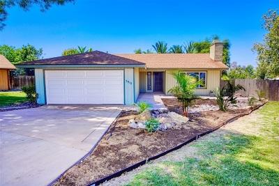 Single Family Home For Sale: 3012 Avenida De Lamar