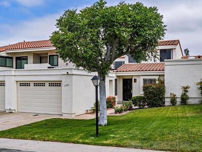 Poway Townhouse For Sale: 17832 Villamoura Dr