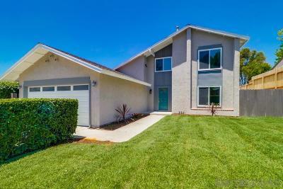 San Diego Single Family Home For Sale: 6718 El Banquero Pl