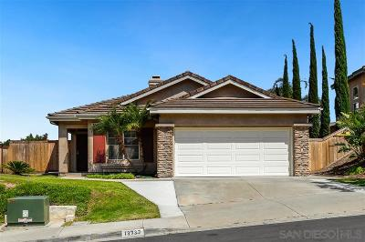 San Diego Single Family Home For Sale: 13737 Tradition St
