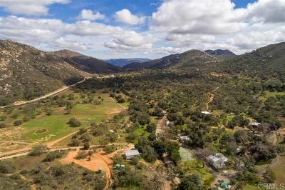 San Diego County Single Family Home For Sale: 18173 Lyons Valley Rd