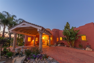 La Mesa Single Family Home For Sale: 4221 Camino Alegre