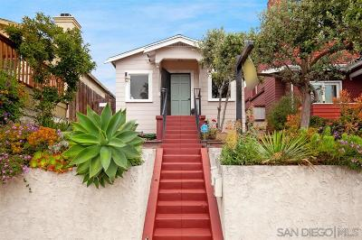 San Diego Single Family Home For Sale: 4517 Arizona St