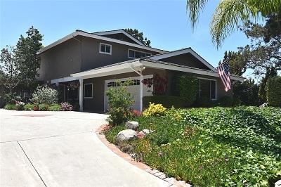 Bonsall Single Family Home For Sale: 5625 Lake Vista Dr