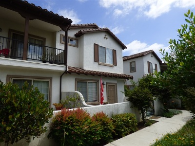 Oceanside Townhouse For Sale: 5511 Old Ranch Rd #17