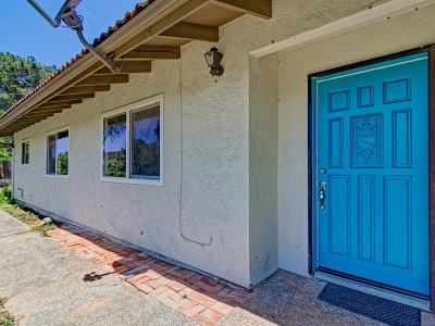 Vista Single Family Home For Sale: 3220 Gopher Canyon Rd.