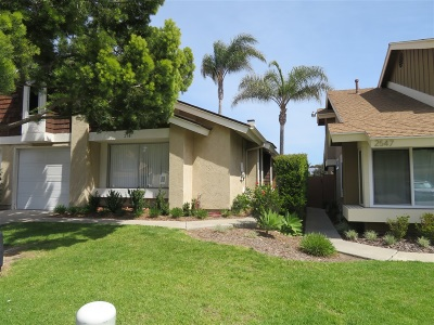 San Diego Townhouse For Sale: 2541 Crosshaven Ln