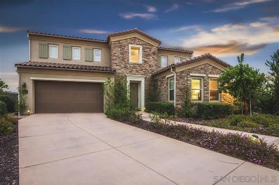 San Diego Single Family Home For Sale: 15608 Peters Stone Court