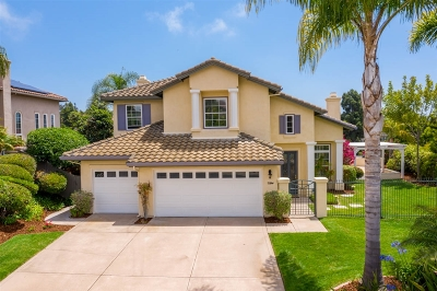 Carlsbad Single Family Home For Sale: 7334 Golden Star Ln