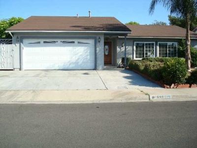 Chula Vista Single Family Home For Sale: 669 Mariposa Circle