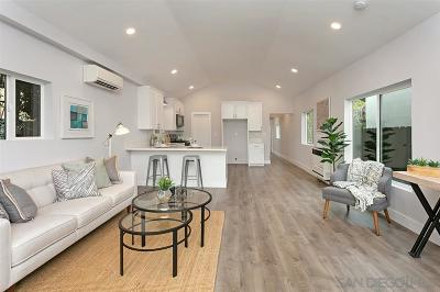 San Diego Single Family Home For Sale: 3819 Albatross
