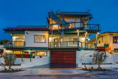 Sunset Cliffs Single Family Home For Sale: 4941 Del Mar Avenue #B