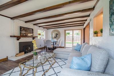 Lakeside Single Family Home For Sale: 9130 Gideon Cir N