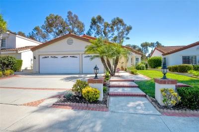 San Diego Single Family Home For Sale: 11815 Avenida Sivrita