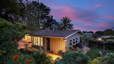 Del Mar Single Family Home For Sale: 757 Hoska Drive
