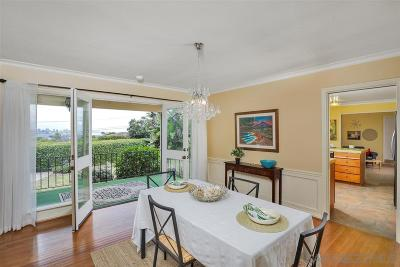 Point Loma Single Family Home For Sale: 3625 Curtis St