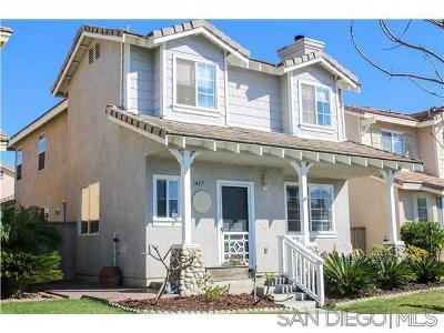 Chula Vista Single Family Home For Sale: 1417 Filmore Place