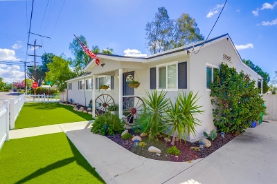El Cajon Single Family Home For Sale: 102 Park Blvd.