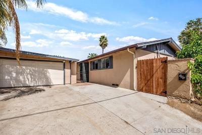 Escondido Single Family Home For Sale: 700 E Washington