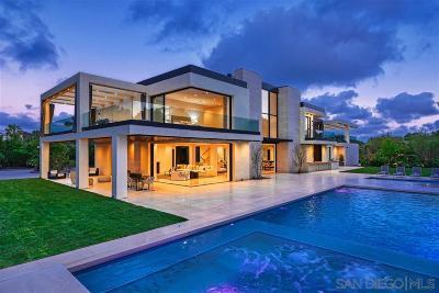 La Jolla CA Single Family Home For Sale: $12,800,000