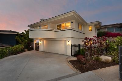 La Jolla Single Family Home For Sale: 5772 La Jolla Corona Dr