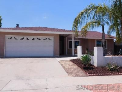 Escondido Single Family Home For Sale: 729 Highland St