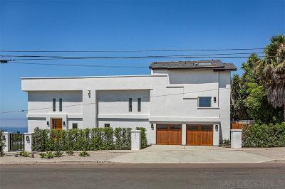 La Jolla Single Family Home For Sale: 5574 Soledad Road