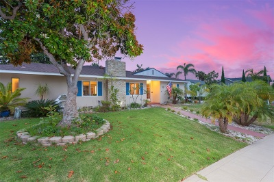 Coronado Single Family Home For Sale: 300 G Avenue