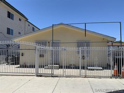 San Diego Multi Family 2-4 For Sale: 3836-3840 43rd Street