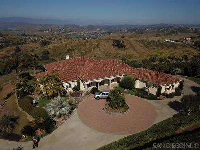 Bonsall Single Family Home For Sale: 5365 Camino Jasmine