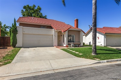 Oceanside Single Family Home For Sale: 4470 Silver Birch Way