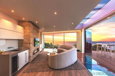 La Jolla Single Family Home For Sale: 7430 Hillside Drive