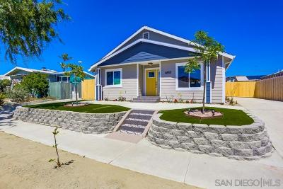 San Diego Multi Family 2-4 For Sale: 4853 33rd St