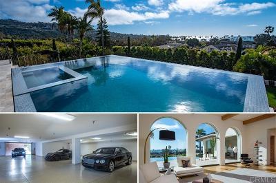 La Jolla CA Single Family Home For Sale: $12,988,000