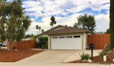 Escondido Single Family Home For Sale: 1160 Conway Dr