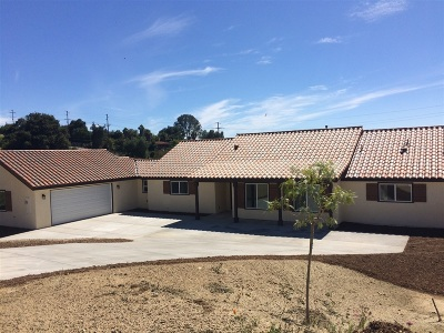 Single Family Home For Sale: 1557 Camino De Nog Way