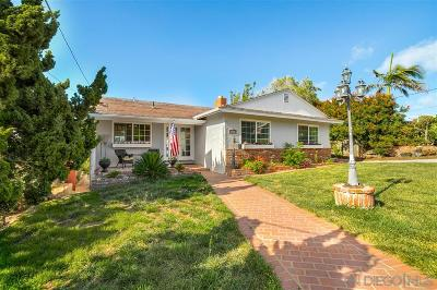 Single Family Home For Sale: 3704 Wilcox St