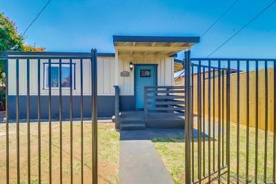 San Diego Single Family Home For Sale: 4051 Nordica