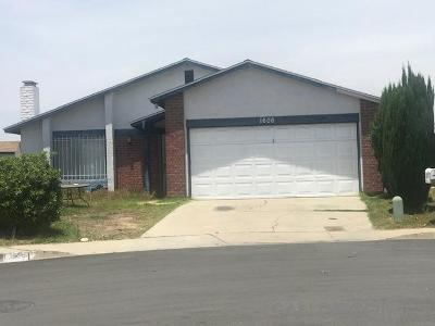 San Diego Single Family Home For Sale: 1606 Forsberg