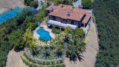 Fallbrook Single Family Home For Sale: 4286 Victoria Ln