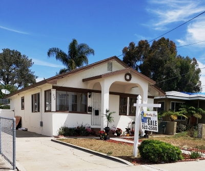 Chula Vista Single Family Home For Sale: 229 J Street