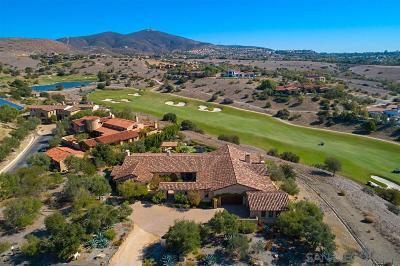 San Diego Single Family Home For Sale: 7775 Sendero Angelica