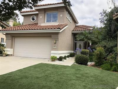 Scripps Ranch Single Family Home For Sale: 12530 Swan Canyon Crt