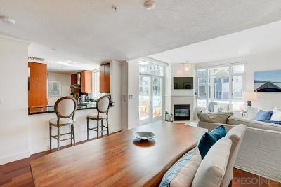 Downtown San Diego Townhouse For Sale: 1159 Pacific Hwy #106