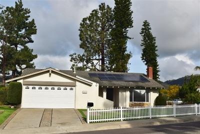 Escondido Single Family Home For Sale: 1963 Gary Lane