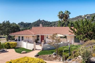 Escondido Single Family Home For Sale: 10127 Lake Meadow Lane