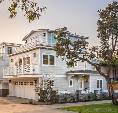 La Jolla Single Family Home For Sale: 8020 La Jolla Shores Dr