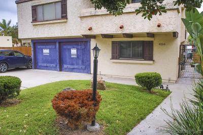 University Heights Townhouse For Sale: 4150 Texas St #1