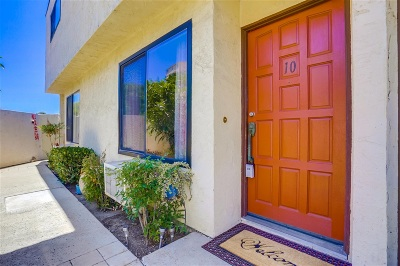 San Diego Townhouse For Sale: 5702 Bates Street #10